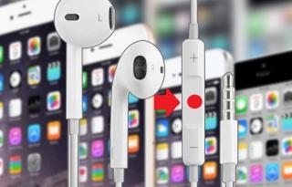 Recursos legais do botão central nos fones de ouvido do iPhone