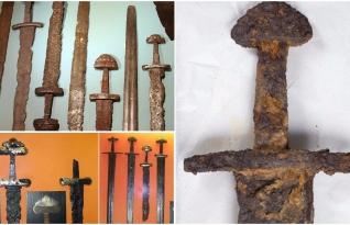 Elaboradas espadas Vikings são resgatadas