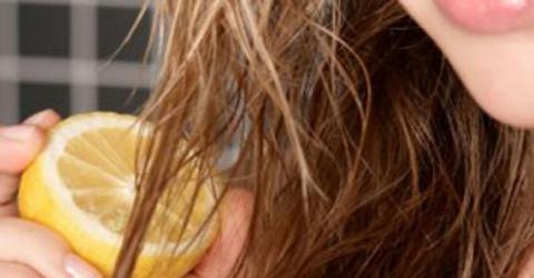 Shampoo caseiro de limão para dimuir cabelos brancos, a queda, e aumentar crescimento