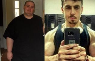 Força de vontade: Ele perdeu mais de 300 quilos e tornou-se um instrutor de fitness