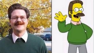 Versões reais de seus personagens de desenhos animados