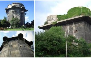 Nazistas construíram edifícos maciços durante a guerra para proteger cidades de ataques aéreos