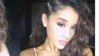 Ariana Grande desmente calvicie exibindo cabelos crespos
